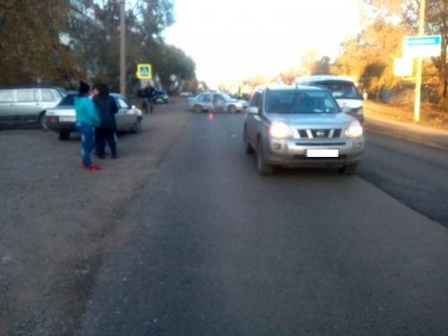 Женщина сбила двух пешеходов. На улице Славы произошло ДТП