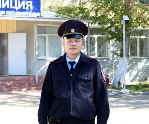 Ему доверяют. За участкового Эльдара Жунусова можно проголосовать до 16 октября